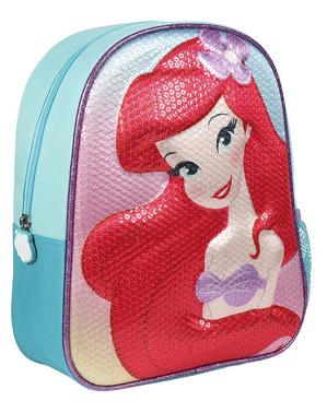 Mochila infantil A Pequena Sereia com lantejoulas - Disney