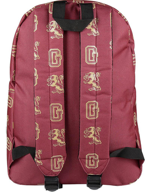 Gryffindor Embossed School Backpack - Harry Potter