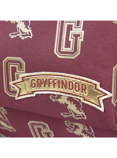 Mochila escolar de Gryffindor estampada - Harry Potter