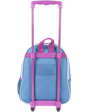Elsa Frozen 3D Sequin Trolley Backpack