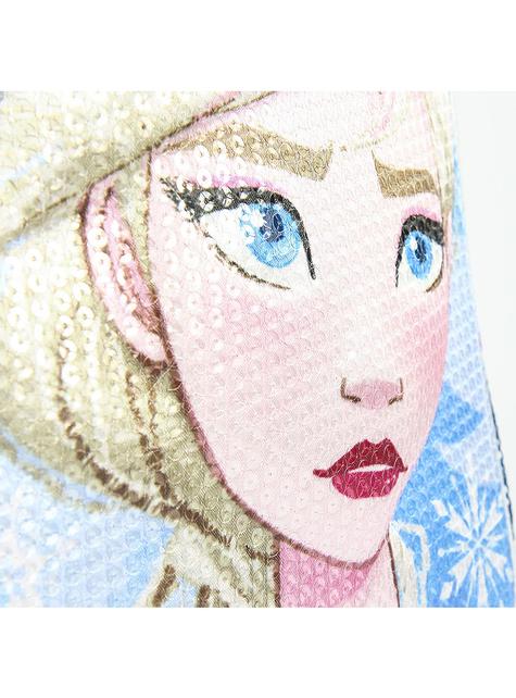 Mochila con ruedas 3D de Elsa Frozen con lentejuelas