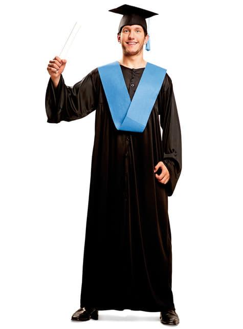 Disfraz de graduado con honores para hombre