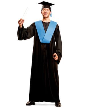 Fato de graduado com mérito para homem