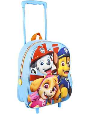 Paw Patrol 3D Trolley Backpack