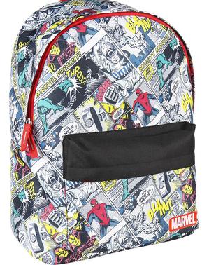 Zaino Marvel con stampe di fumetti