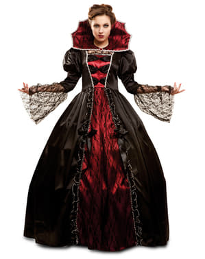 Fato de vampiresa poderosa para mulher