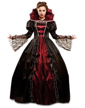 Kraftig Vampyrinne Kostyme Dame