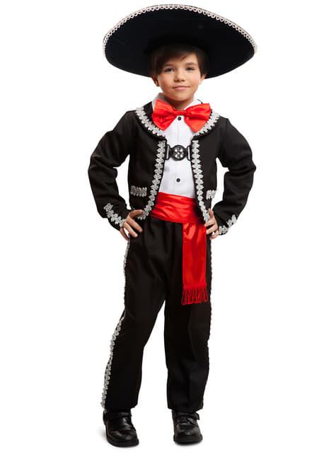 Chlapecký kostým okouzlující hudebník Mariachi