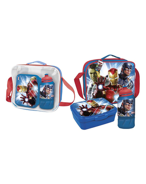 The Avengers Lunchbox mit Accessoires - Marvel