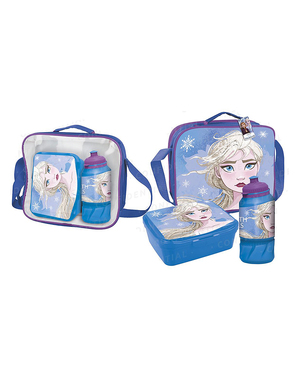 Elsa Frost 2 lunchlåda med tillbehör - Disney
