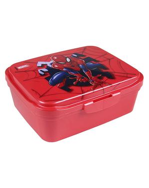 ספיידרמן קופסת האוכל עם אביזרים