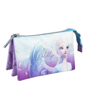 Trousse Elsa La reine des neiges 2 trois compartiments - Disney