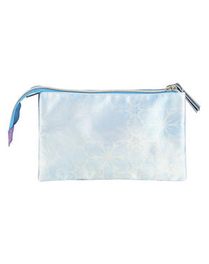 Elsa Frozen 2 Pencil Case with 3 Compartments - Disney