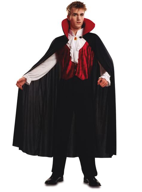 Strój gotycki wampir męski