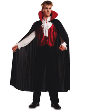 Fato de vampiro gótico para homem