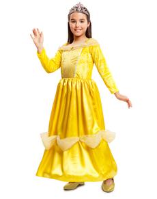 Disfraz de bella princesa de cuento para niña