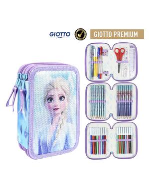 Trousse triples Elsa La reine des neiges 2 - Disney