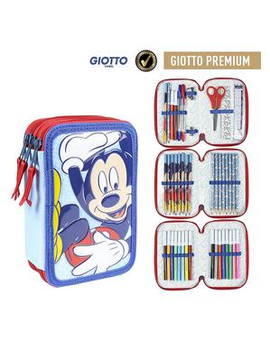 Astuccio con 3 chiusure lampo Mickey Mouse - Disney