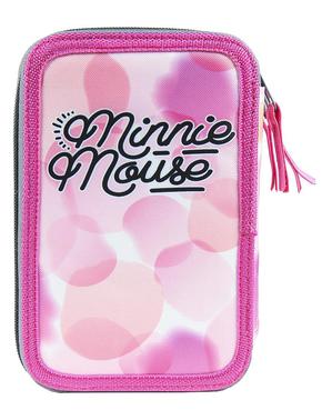 Minnie Maus Federmappe mit 3 Reißverschlüssen - Disney