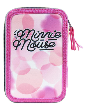 Minnie Mouse Etui met 3 vakken - Disney