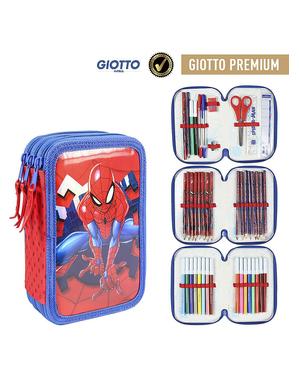 Spiderman Ceruzka Púzdro s 3 priehradiek