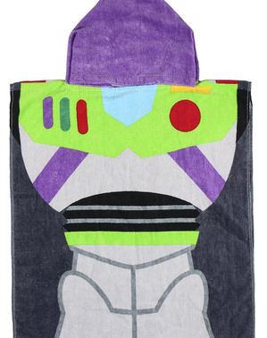 Buzz Lightyear Towel with Hood for Boys - Toy Story