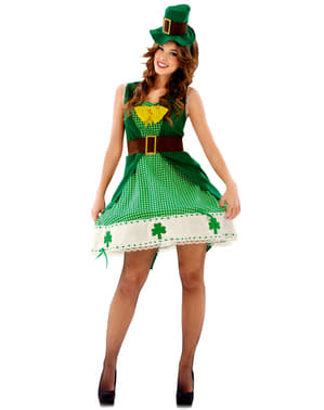 Woman's Irish Leprechaun Costume