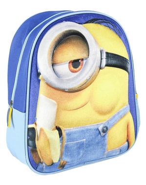 Minions Suede Backpack for Kids