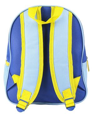 Zamszowy plecak Minionki dla dzieci