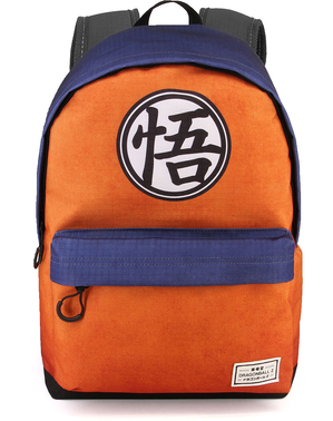 Sac à dos Dragon Ball bleu et orange