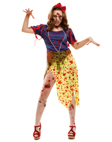 Woman's Zombie Snow Princess Costume