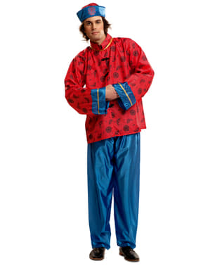 Mandarin Kinesisk Kostyme Mann