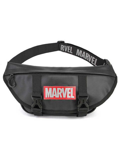 Riñonera de Marvel negra