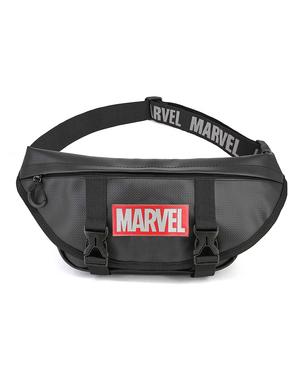 Bolsa de cintura de Marvel em preto