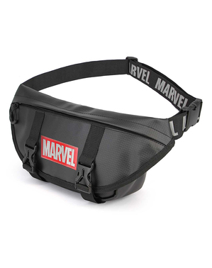 Marvel magväska i svart