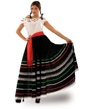 Maskeraddräkt Mexikansk servitris för henne