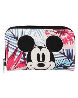 Portefeuille Mickey Mouse tropical - Disney
