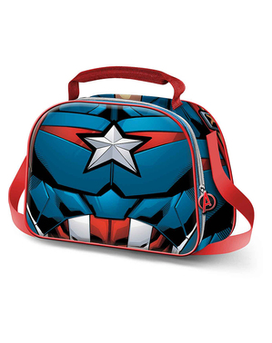 3D Captain America Lunch Bag - The Avengers