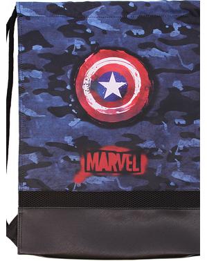 Mochila saco de Capitán América camuflaje - Los Vengadores