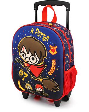3D Harry Potter Zwadderich Trolley-rugzak voor kinderen
