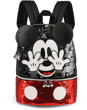 Mochila de Mickey Mouse com lantejoulas - Disney