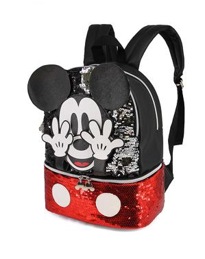 Ghiozdan Mickey Mouse cu paiete - Disney