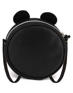 Rund Mikke Mus Bag med Paljetter - Disney