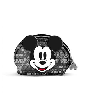 Porta-moedas de Mickey Mouse em preto - Disney