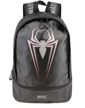 マーベル - 黒でスパイダーマンバックパック