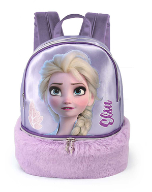 Elsa Frozen Rucksack lila
