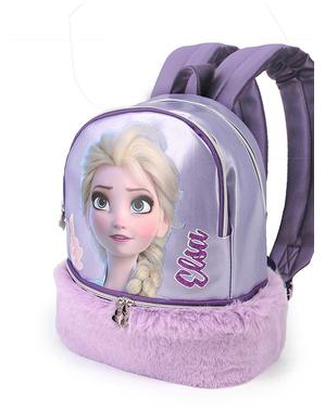 Fioletowy plecak Elsa Kraina Lodu