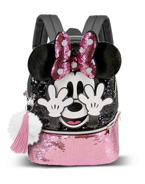 Ghiozdan Minnie Mouse cu paiete - Disney