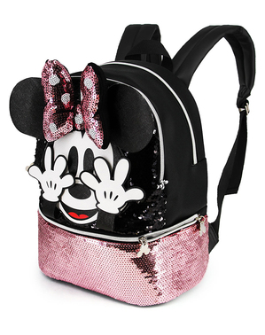 Mochila de Minnie Mouse con lentejuelas - Disney