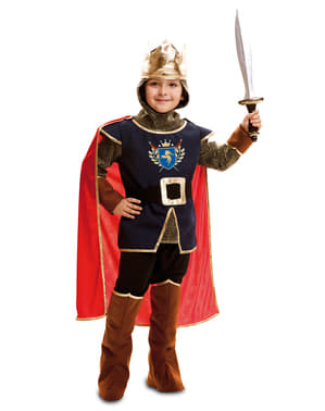 Ridder Konge Kostyme Gutt